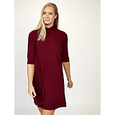Ronni Nicole Ribbed Swing Dress