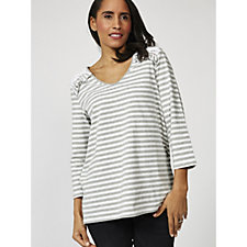 Together Frill Detail Stripe Top