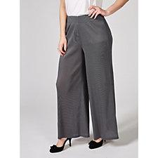 MarlaWynne Micro Pleat Palazzo Trousers