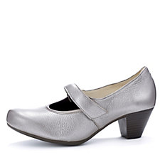 Vitaform Deer Leather Mary Jane Court Shoe