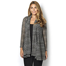 Yong Kim Stretch Edge to Edge Cardigan