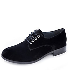 Adesso Ryen Velvet Lace Up Brogue