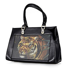 Butler & Wilson Tiger Hologram PVC Bag
