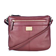 Tignanello Show Stopper Glove Leather Crossbody Bag with RFID Protection