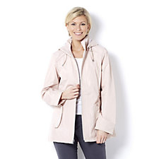 D.E.T.A.I.L.S Lightweight Jacket with Detachable Hood and Seam Detail