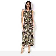 C. Wonder Engineered Printed Maxi Dress Regular