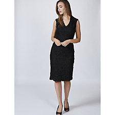 Ronni Nicole Sleeveless V Neck Lace Dress