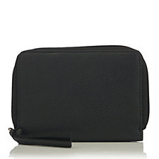 Amanda Lamb Leather Zip Around Purse