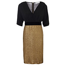 Trinny & Susannah Black & Gold Dress