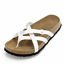 Betula by Birkenstock Vinja Metallic Cross Over Strap Sandal