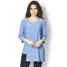Antthony Designs Asymmetric Overlay Tunic