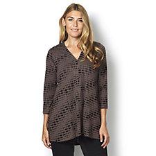 Yong Kim Knit Jersey Cutout Tunic