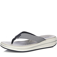 Skechers Upgrades Sailin Striped Flip Flop