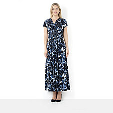 Fashion by Together Midnight Floral Maxi Dress