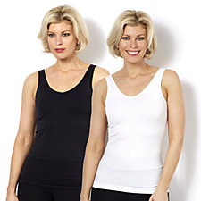 158780 - Breezies Reversible Seamless Pack of 2 Tank Tops