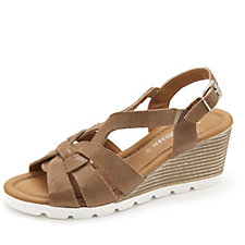 159080 - Easy'n Rose Multi Strap Wedge Heel Sandal