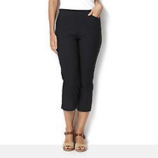 Mr Max Crop Trouser with Mesh Panel Insert and Slant Pockets