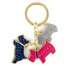 Radley London Night Shift Keyring with Gift Box