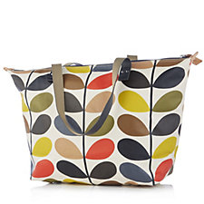Orla Kiely Classic Multi Stem Zip Shopper Bag