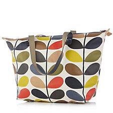 Orla Kiely Classic Multi Stem Zip Shopper Bag