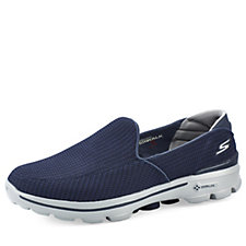 Skechers GOwalk 3 Fit Knit Mens Slip On With GO Pillars
