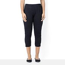 Yong Kim Crinkle Capri Trousers