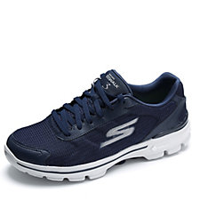 Skechers GOwalk 3 FitKnit Lace Up Mens Trainer with GO Pillars