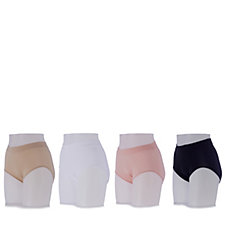 Breezies Seamless Pack of 4 Full Briefs