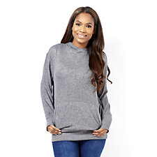 Anybody Loungewear Hooded Tunic Sweatshirt