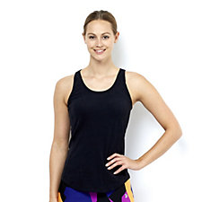 Purelime Double Strap Detail Back Top