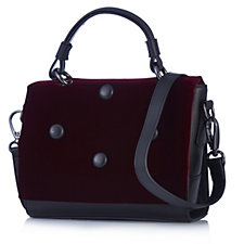 Peter Kaiser Esma Velvet Leather Bag