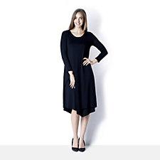 Yong Kim Jersey Layered Dress