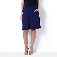 Kim & Co Brazil Knit Culottes with Pockets