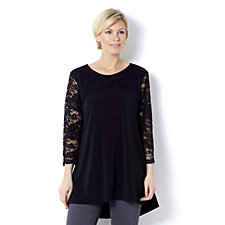 Grace Lace Yoke & Sleeves Tunic