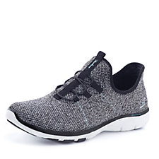 Skechers Galaxies On Air Knit Bungee Lace Shoe with Memory Foam