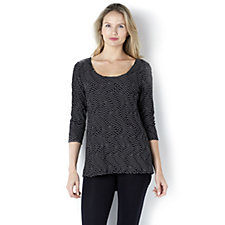 Casual & Co Textured Top