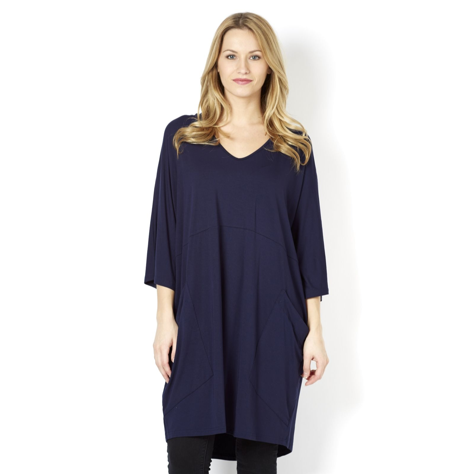 Join Clothes Jersey Tunic with Front Pocket Detail