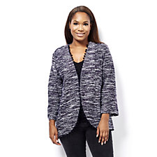 Fashion by Together Pom Pom Trim Cardigan