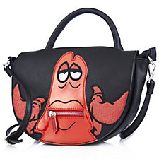 Danielle Nicole Disney Little Mermaid Sebastian Saddle Bag