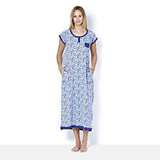 Carole Hochman Multi Floral Long Night Gown