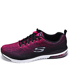 Skechers Air Infinity Modern Chic Ombre Knit Lace Up Trainer