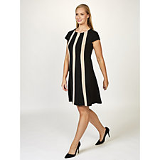 Ronni Nicole Colourblock Scuba Swing Dress
