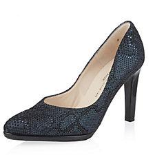 Peter Kaiser Herdi Snake Print Court Shoe