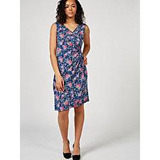Joe Browns Pretty Sleeveless Wrap Dress
