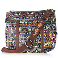 The Sak Small Artist Circle Printed Coated Crossbody Bag