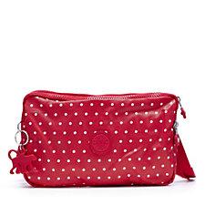 Kipling Davon Premium Small Double Zip Top Handbag with Back Zip