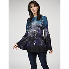Attitudes by Renee Bell Sleeve Printed Tunic