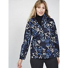 Joules Coast Printed Waterproof Hooded Jacket