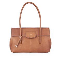Radley London Burnham Beeches Large Leather Flap Over Shoulder Bag