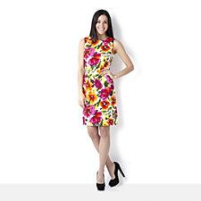 Ronni Nicole Floral Print Shift Dress